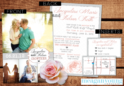 Crowther Wedding Invites