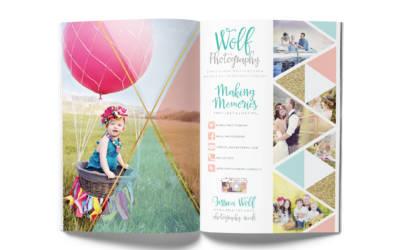 Wolf Photography Magazine Layout