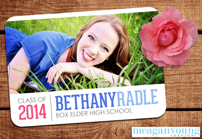 Bethany Graduation Announcement