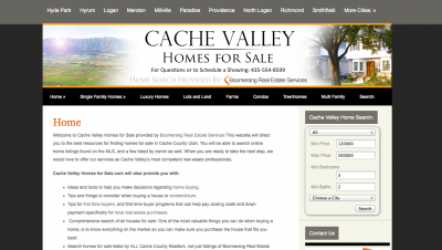 Cache Valley Homes for Sale