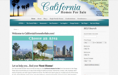 California Homes for Sale