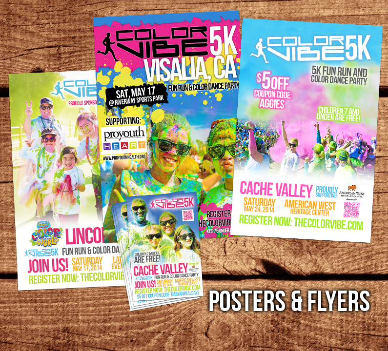 Color Vibe Posters