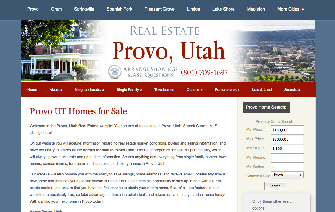 Real Estate Provo