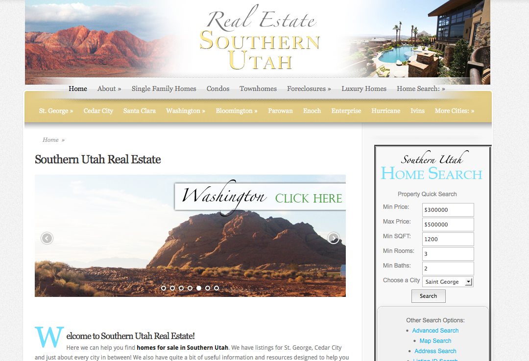 Real Estate Southern Utah