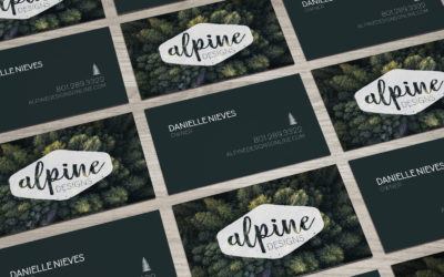 Alpine Designs Business Cards