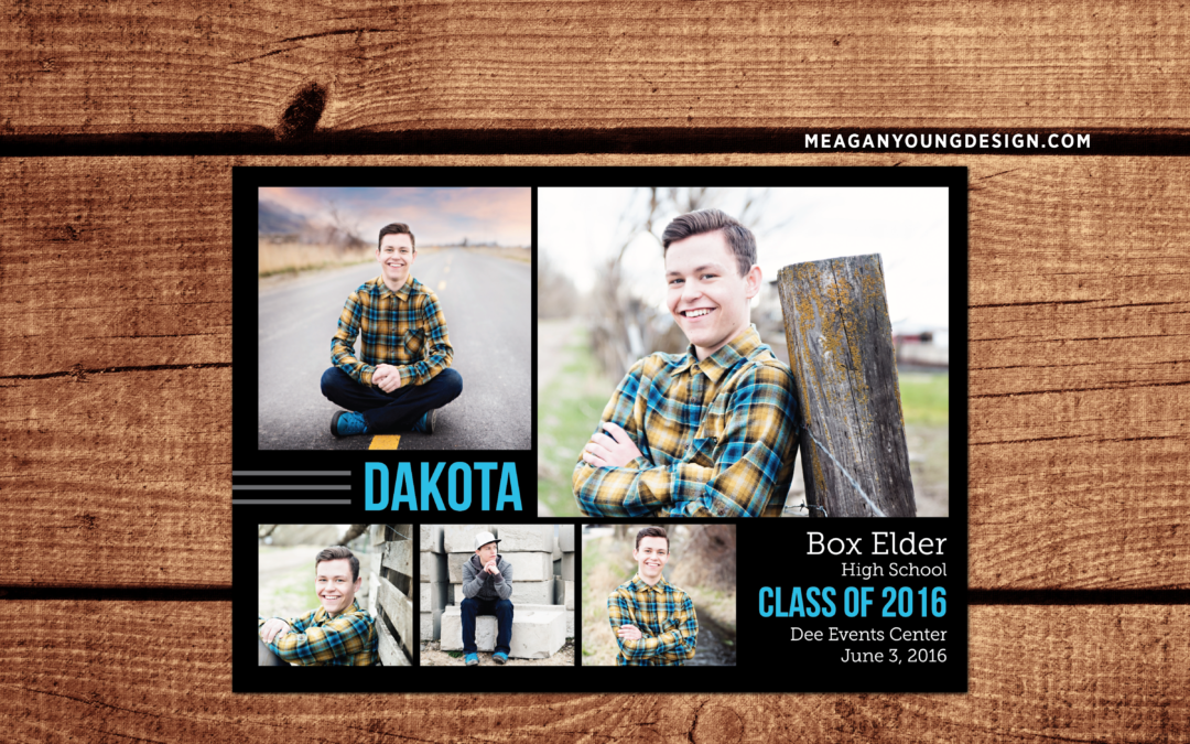 Dakota Graduation Announcement