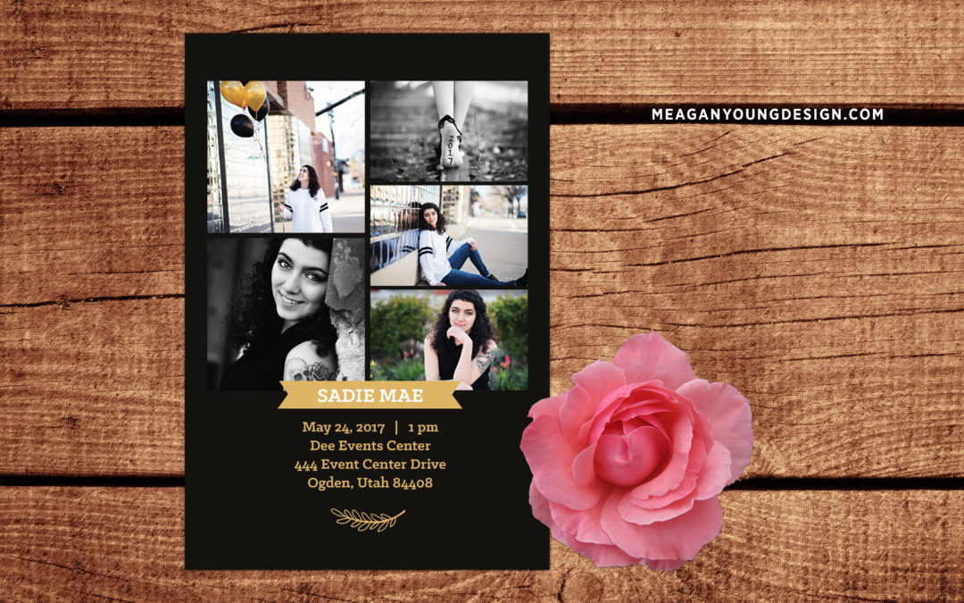 Sadie Graduation Announcements