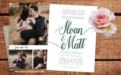Bowen Wedding Invite